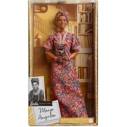 Barbie Mulheres Inspiradoras Maya Angelou Melhor Preço Sj