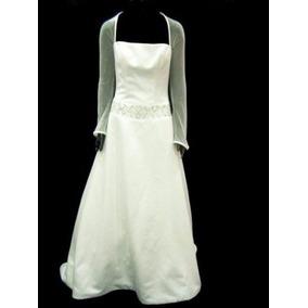 Vestido De Noiva - Paloma Branca - Mangas Tule