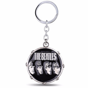 Chaveiro The Beatles De Metal Banda De Rock Drum The Beatles