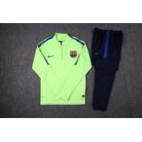 Conjunto Nike Fc Barcelona Buzo + Pantalon (chupin) 2017