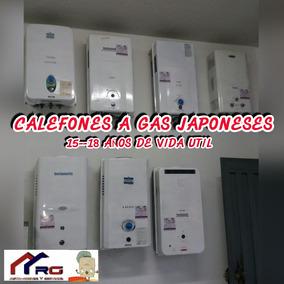 Variedad De Calefones A Gas Originales Japoneses Garantizado