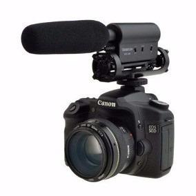 Microfone Shenggu Takstar Sgc-598 Dslr Canon Nikon Sony Jvc