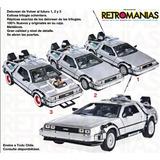 Delorean Original Volver Al Futuro / Back To The Future Auto