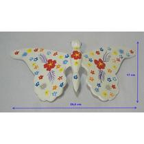 Conjunto De Tres Mariposas Decorativas Colgantes De Madera