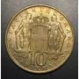 Gre014 Moneda Grecia 10 Drachmas 1968 Au-unc Ayff
