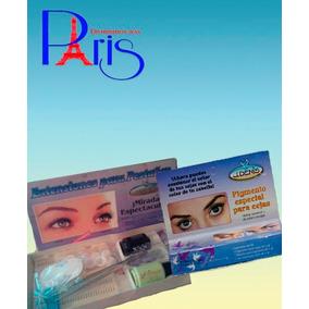 Kit Extensiones Para Pestaña + Pigmento Cejas Dist. Paris