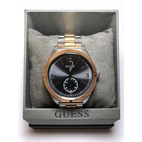 Reloj Guess Iconic Plateado / Dorado Para Caballero W0872g2
