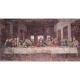 Cuadro Oleo Pintura La Ultima Cena Leonardo Da Vinci