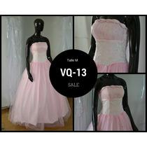 Hermoso Vestido De Quince Importado - Listo Para Usar!
