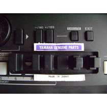 Botões No / Yes / Execute / Exit Teclado Yamaha Psr S650