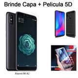 Smartphone Xiaomi Mi A2 Global 6gb 128gb Película 5d + Capa