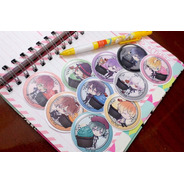 Set De 10 Stickers Circulares De Anime - Diabolik Lovers