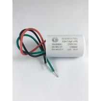 Capacitor Para Ventilador 3 Fios 10uf (3+7)uf