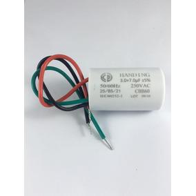 Kit 10 Capacitores Para Ventilador 3 Fios 10uf (3+7)uf