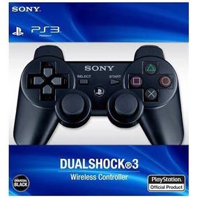 Controle Ps3 Sem Fio Sony Dualshock Com Cabo Usb Pra Caregar