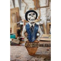 Palancas Personalizadas Para Chopera Esculpidas En Madera