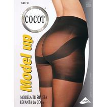 Media Panty Modeladora Levanta Cola Lycra Pack X3 Cocot 91
