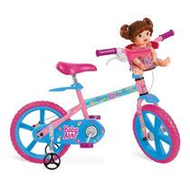 Bicicleta Infantil Aro 14 Baby Alive Brinquedos Bandeirantes