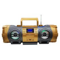 Kaboom Caixa De Som Bd1500 Rádio Fm Cd Player Usb Mp3 Aux
