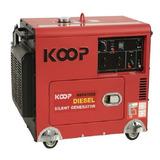 Generador Diésel Insonoro 5.5 Kw Con Ats + Tablero Transf.