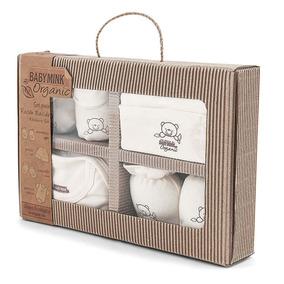Baby Mink Organic Set Para Recien Nacido 100% Algodon 4 Pz