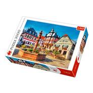 Puzzle Plaza Del Mercado Heppenheim Alemania - 3000pz Trefl