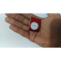Mini Mp3 Leitor Con Entrada Nicro Sd Bateria Interna