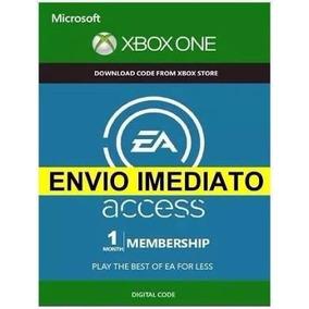 Ea Access 1 Mês Xbox One Envio Imediato