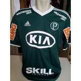 Lote Com 10 Camisas Do Palmeiras, A Maioria De Jogo