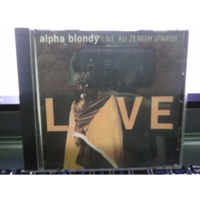 Cd Alpha Blondy - Live
