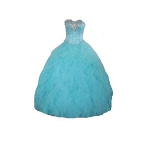 Vestido Longo Festa Debutante 15 Anos Princesa Importado