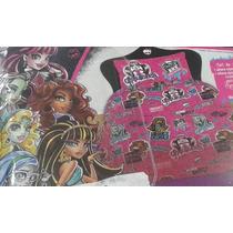 Acolchado Monster High N 1 1/2 Plaza Piñata Almacen Sonrisas