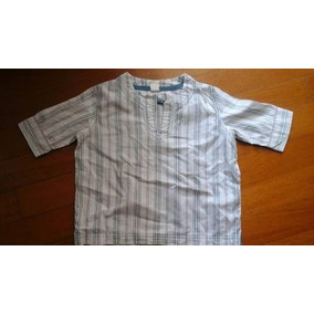 Camisa Cuello Mao Talle 3 Importada