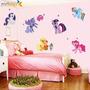 Adesivo Parede Infantil My Little Pony Decorativo 50 X 70 Cm