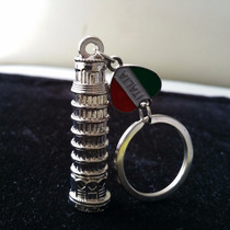 Torre Pisa Italia Souvenir Precioso Llavero Pais 1085