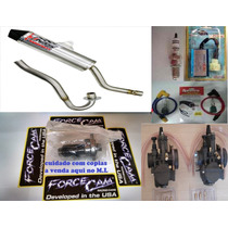 Kit Competição Crf 230 240cc Escape Ims Force Cam Cdi Pwk