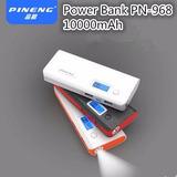 Carregador Portátil Power Bank Pineng 10.000mah Celular