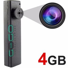 Botão Espião Micro Camera Escondida Igual Caneta 4gb I 006