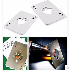 Destapador De Cerveza Carta De Poker Souvenir 18 Años