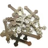 150 Pares De Crucifixos E Entremeios P/ Confecção De Terços