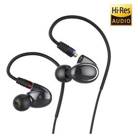 Audífonos Híbridos Hi-res Fiio Fh1 Knowles 2 Cables 3.5,2.5