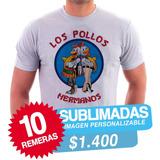 Remeras Por Mayor Rosario Sublimadas, Serigrafía, Talles Esp