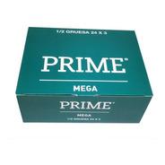 Preservativos Prime Mega 24 Cajitas X 3 Mas Anchos