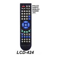 Control Remoto Lcd 424 Tv Led Philco Sanyo Noblex Sansei Jvc