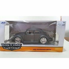 Volkswagen Beetle Fusca 1959 - Retro Big Time 1:24