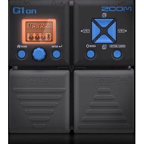 G1on Zoom Procesador De Efectos Para Guitarra