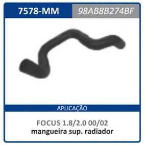 Mangueira Superior Radiador Ford Focus 2.0 2000/2002