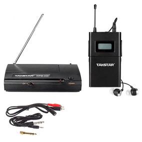 Takstar Wpm200 Sistema Monitoreo Inalambrico + Auric. In-ear