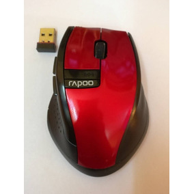 Rapoo Usb 2.4ghz Wireless Óptico Mouse 3200