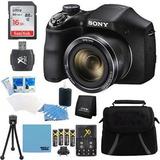 Cámara Digital De Sony Cyber-shot Dsc-h300 Negro 16 Gb Kit